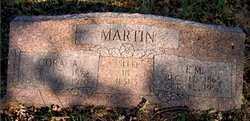Cora Adeline <i>Thompson</i> Martin
