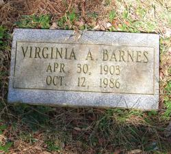 Virginia Ann <i>Hawkins</i> Barnes