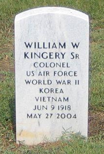 Col William W. Kingery