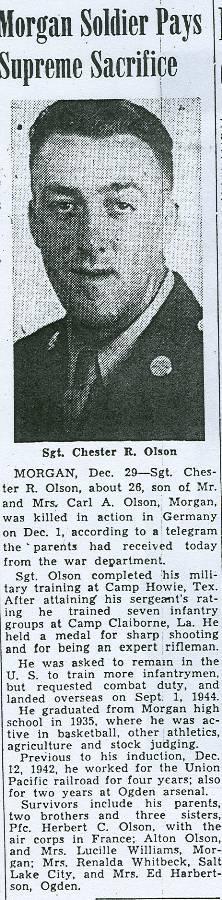 Chester R. Olson