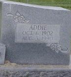 Addie Celine <i>Mills</i> Brewington