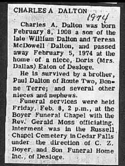 Charles A. Dalton