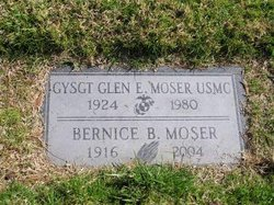 Bernice <i>Bond</i> Moser