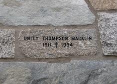 Unity Thompson Macklin