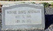 Winnie Davis Aultman