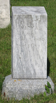 Mary A Unknown