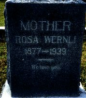 Rosa <i>Kaiser</i> Wernli