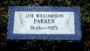 Susan Martha Sue <i>Williamson</i> Parker