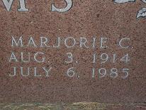 Marjorie C Adams