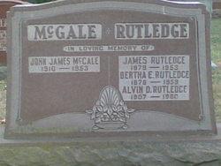 Bertha Elizabeth <i>Turpel</i> Rutledge
