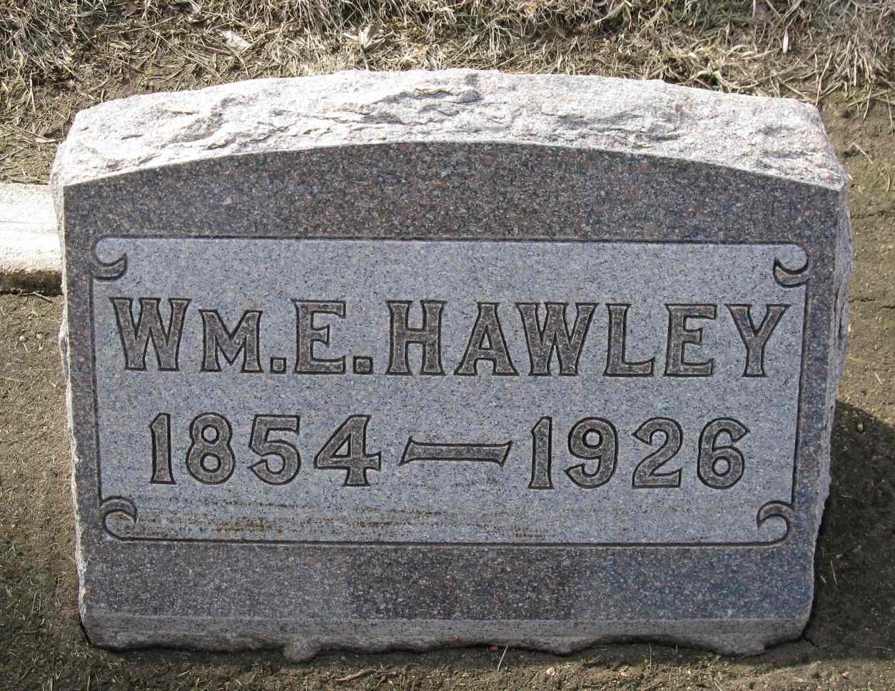 William Emery Hawley (1854 - 1926) - Find A Grave Photos