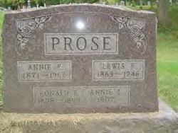 Anna Louise <i>Fuson</i> Prose