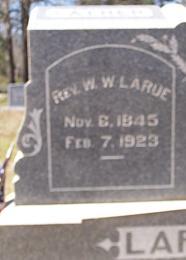 Rev. William Washington Wash LaRue