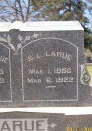 Sarah L <i>Albright</i> LaRue