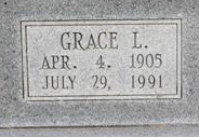Grace Lavada <i>Stainbrook</i> Adams