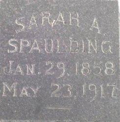 Sarah Alma <i>Hall</i> Spaulding