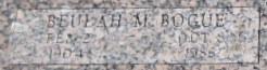 Beulah M <i>Edgington</i> Bogue