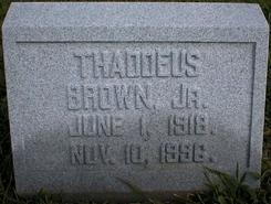 Thaddeus Brown, Jr