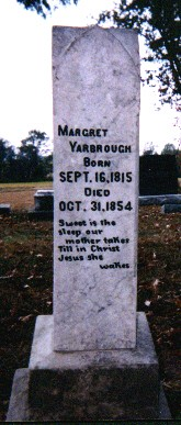 Margaret Elizabeth <i>Leech</i> Yarbrough