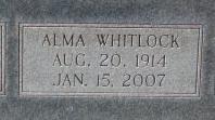Alma Alene <i>Whitlock</i> Glover