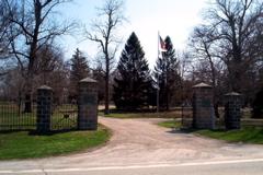 Wood Wreath Cemetery
