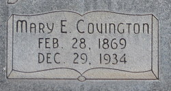 Mary Emily <i>Covington</i> Larson