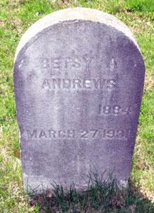 Betsy A. <i>Thorp</i> Andrews