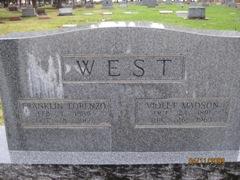 Franklin Lorenzo <i>Richards</i> West