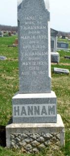 Jane C. <i>Coffin</i> Hannam
