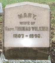 Mary <i>Backus</i> Wilkins