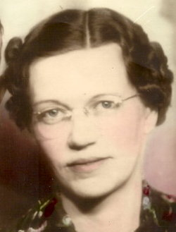 Bertha Luellen <i>Mayes</i> Brumley