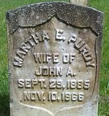 Martha E. <i>Sparks</i> Purdy