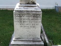 Mary <i>Sutphin</i> Amerman
