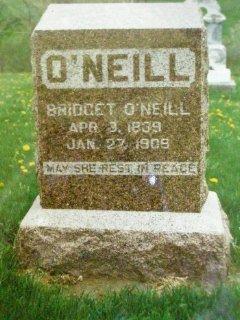 Bridget <i>Noone</i> Bolton/O'Neill