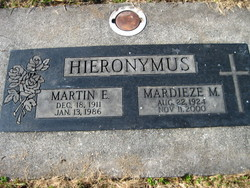 Martin E. Curly Hieronymus