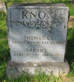 Sarah Ellen <i>Oglesby</i> Knox