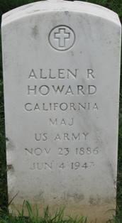 Maj Allen R Howard