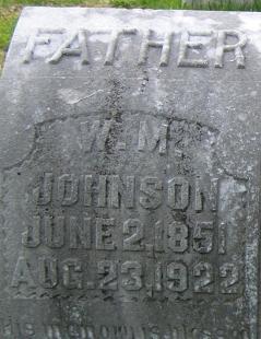William M Johnson