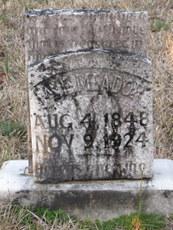 Anna E <i>Elliott</i> Meadow