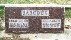 Elizabeth <i>Benzie</i> Babcock
