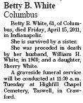 Betty Bernice <i>Goldman</i> White