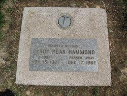 Leroy Peak Hammond