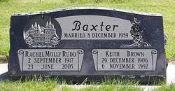 Rachel Mary Molly <i>Rudd</i> Baxter
