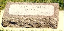 Ruth Ann <i>Curtis</i> Davis