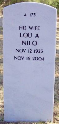 Lou Alice <i>Adams</i> Nilo Scholten