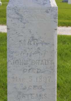 Mary <i>Welch</i> Brady