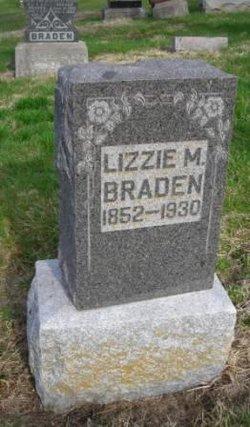 Lizzie M. <i>Leech</i> Braden