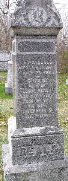 Josephine M Beals