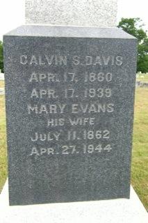 Mary <i>Evans</i> Davis