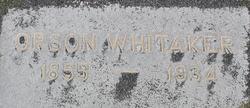 Orson Robinson Whitaker